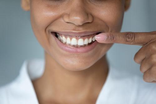 Framingham dental office | patient smiling